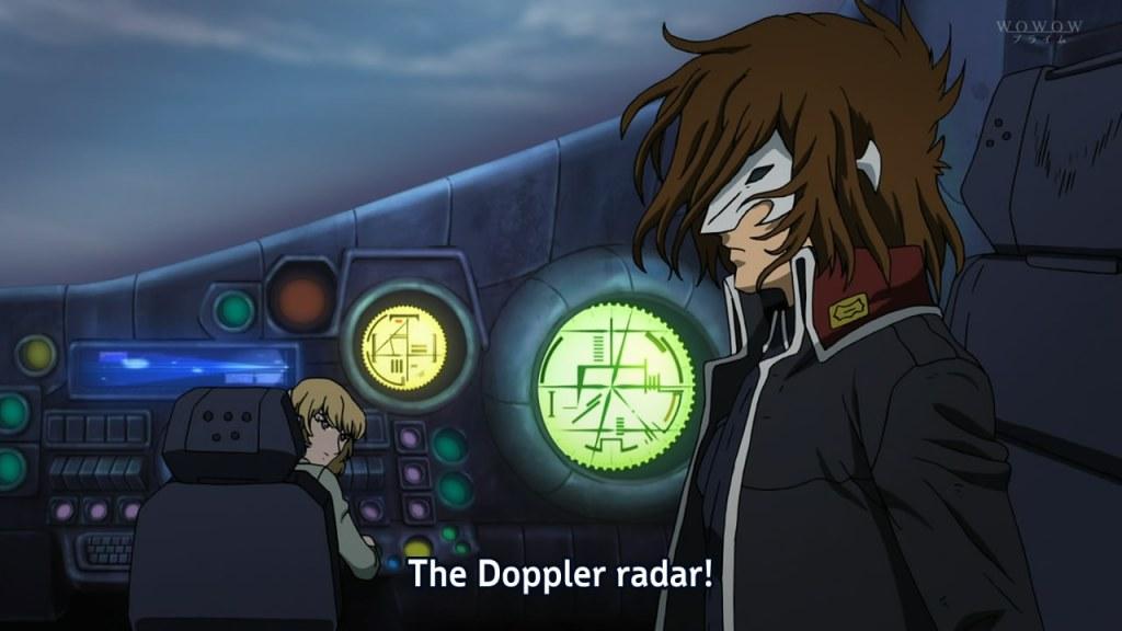 The Doppler radar!