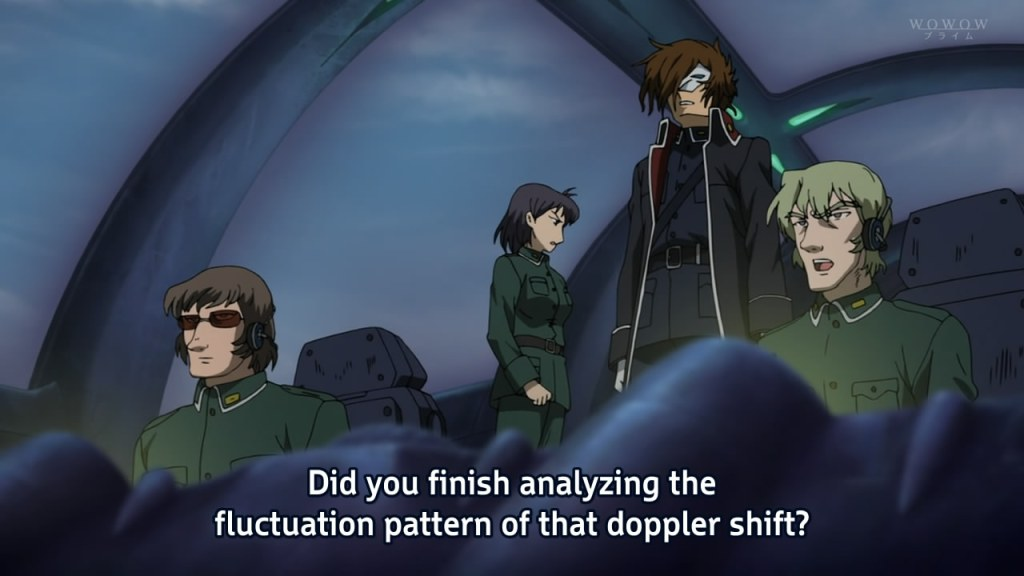 Did you finish analyzing the fluctuation pattern of that doppler shift?